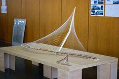 Jerusalem bridge model Bridge Model, Bridge Structure, Membrane Structure, Arch Model, Shade Structure, Bridges Architecture, Amazing Architecture, Architecture Design, Paper Bridge