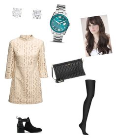 """""""Sin título #90"""" by nudul on Polyvore featuring moda, Miu Miu, Nly Shoes, DKNY y FOSSIL"""