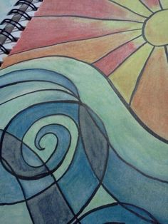 Fun with watercolors.