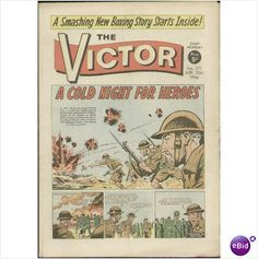 THE VICTOR COMIC APR 30 1966 NO 271 Listed on Ebid by TILLEYS of SHEFFILED