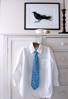 DYI - Passo a passo para fazer gravata infantil