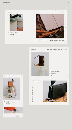 Minimal Web Design, Website Design Minimalist, Graphic Design, Portfolio Web, Portfolio Layout, Website Layout, Web Layout, Page Layout Design, Website Design Inspiration
