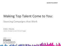 Making Top Talent Come to You