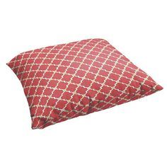 Outdoor pillows are the perfect choice for easy seating at a beach picnic.   $73