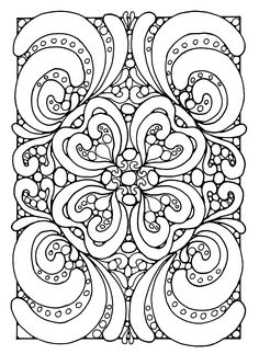 Free coloring page «coloring-abstract-zen».