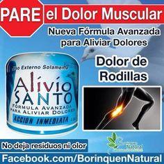 Disminuye tus doores con Alivio Santo, llama al 787-304-0458 para mas informacion #borinquennatural #bnsalud