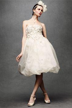 Floral Artwork Dress in SHOP The Bride Wedding Dresses at BHLDN-Dress rehearsal dress?