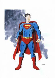 Superman by Mike McKone Comic Art