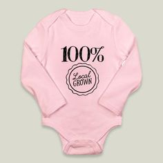 Fun Indie Art from BoomBoomPrints.com! https://www.boomboomprints.com/Product/broadmeadow/Local_Grown/Long-Sleeve_Onesies/0-3M_Petal_Pink_Long-Sleeve_Onesie/