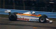 1980 Geoff Lees, Williams FW07B Ford
