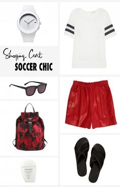 Soccer Chic - The World Cup has taken over and I am feeling inspired by to dress for the games. A couple ideas for weekend shopping on my Pinterest!