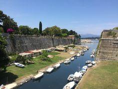 Corfu old fortress June 2017