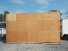 Wooden Shipping Containers for Sale