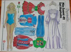 Apu-magazine paper dolls for the years 1978-1984 was designed Rauni Palonen. - PaperiCecilia - Picasa Web Albums