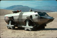 The Landmaster built for the movie Damnation Alley by Dean Jeffries
