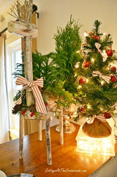 Christmas Home Tour-Cottage at the Crossroads