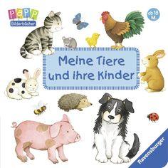 Meine Tiere und ihre Kinder: Amazon.de: Sandra Grimm, Monika Neubacher-Fesser: Bücher