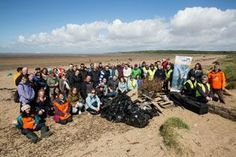 6,000 volunteers cleared 180,000 pieces of litter from British beaches