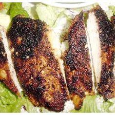 Cajun blackened chicken