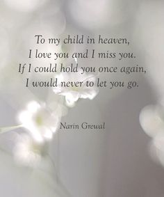 What I wouldn't give to hold you again my son... words can't describe how much I miss you....x