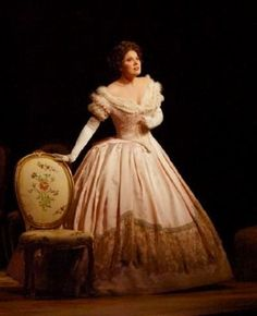 Madeline Bender as Violetta in 'La Traviata'