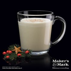 A party for your palate and your punch bowl, this traditional Eggnog recipe is sure to please. #MakeItMerry
