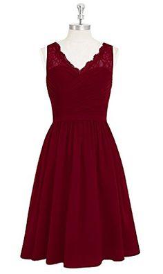 Women's V-Neck Lace Bridesmaid Dresses Short Sequins Bead... https://www.amazon.com/dp/B01N7LXZM3/ref=cm_sw_r_pi_dp_x_-aQXzbZ3CAVC1