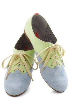 Pastel Your Own Tale Flat, #ModCloth