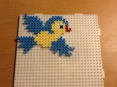 bird in hama beads