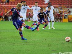 Keisuke Honda PK decided the match Japan National Team Asian Cup Australia 2015