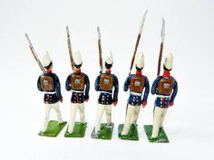 alte Zinnsoldaten Preußische Infanterie Parade Firma Heyde Dresden um 1910