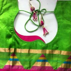 15 Types Of Blouse Back Neck Designs That You Should Try - Kurti Blouse Patch Work Blouse Designs, Simple Blouse Designs, Saree Blouse Neck Designs, Stylish Blouse Design, Neckline Designs, Choli Designs, Kurti Neck Designs, Dress Neck Designs, Sleeve Designs