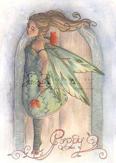 Poppy  ~ Sara M Butcher Burrier