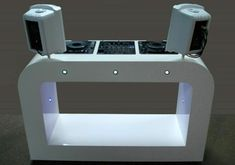 Homelander - custom-built DJ booth for your home