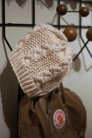 Kerttukerho: DIY palmikkopipo Knit Crochet, Crochet Hats, Crochet Ideas, Yarn Inspiration, Fun Projects, Handicraft, Diy And Crafts, Embroidery, Hoodies