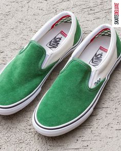 The Vans Skate Slip On & Era - now available New Skate, Vans Skate, Skate Shoes, Skate Shoe Brands, Shoe Releases, Vans Shop, Nike Sb, Skateboard, Converse