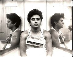 Carlos Hernandez - April 4, 1983 Corpus Christi Police Dept. booking photo (for hanging around outside a convenience store with a knife). More than 20 years after the murder and 16 years after Carlos DeLuna was executed, a Tribune investigation has uncovered evidence that strongly suggests he was innocent and that the real killer was Carlos Hernandez Jr.. Hernandez died in prison in 1999.
