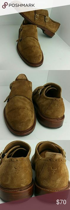 TRASK LANGLEY MEN'S SHOES VERY CLEAN INSIDE-OUT   SKE # TU Trask Shoes