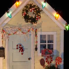 Decorated for Christmas