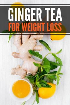 How to make ginger tea for weight loss and flat stomach. Includes 5 benefits of ginger for weight loss, tips on when to drink, fresh vs powder ginger and tea bags. Easy recipe with lemon and honey. #freshginger #ginger #tea #gingertea Ginger Tea, Fresh Ginger, How To Lose Weight Fast, Lose 10 Pounds Fast, Lose Weight In A Month, Ginger Benefits, Lemon Recipes, Flat Stomach, Weight Loss Plans