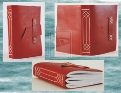Small Leather Journal - Medieval Limp Binding by ~Bluelisamh on deviantART