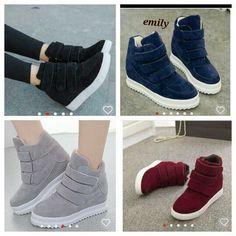 Hasil gambar untuk sepatu boots casual wanita 44307df238