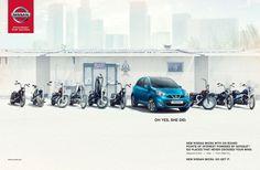 Nick Meek on levineleavitt.com #photography #transportation #automotive #cars #landscape #nissan