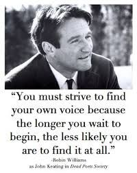 Find your own voice