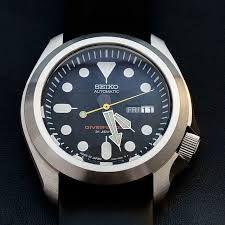 Image result for seiko skx pilot watch mod