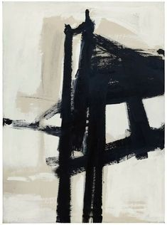 "Light Mechanic, Franz Kline, 1960 THE PAINTING TECHNIQUES OF FRANZ KLINE ""Kline had been working with house paint. His gallerist didn't like that idea so much - he was looking for fine art prices, not..."