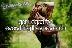 I get judged a lot from liking one direction. They judge my account a lot. :( :/