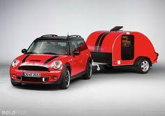 2012 Mini Countryman Cowley Caravan
