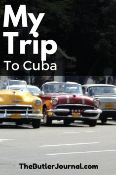 In December, I had the chance to use my passport for the second time in four months. In August, I went to Costa Rica. This time I went to Havana, Cuba.