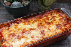Cuketové lasagne (fotorecept) - Recept Ethnic Recipes, Food, Lasagna, Essen, Meals, Yemek, Eten
